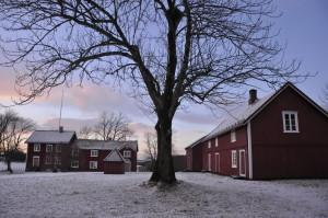 Tunet flott bilde sne