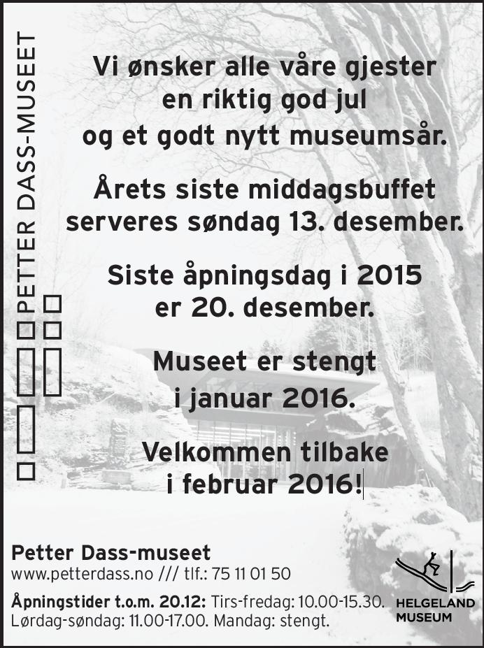 julestengt 2015